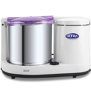 Ultra Dura+ 1.25 Ltr Table Top Wet Grinder (Fortune White)