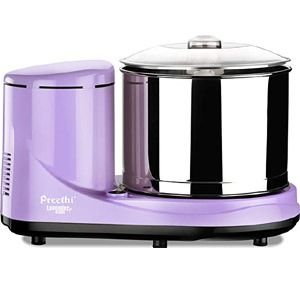 Preethi Lavender 2Ltr Table Top Wet Grinder (Lavender)