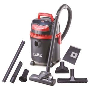 Eureka Forbes Trendy DX Canister Vacuum Cleaner (Black Red)