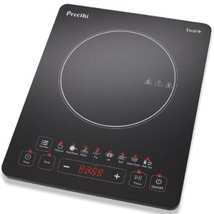 Preethi Excel+ Induction Cooktop (Black)