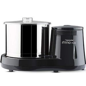 Butterfly Rhino Plus 2 Ltr Table Top Wet Grinder (Black)