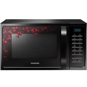 Samsung MC28H5025VB 28 Ltrs Convection Microwave Oven (Black)