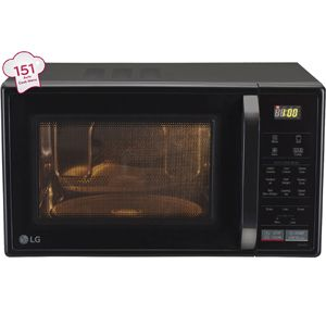LG MC2146BL 21 Ltrs Convection Microwave Oven (Black)