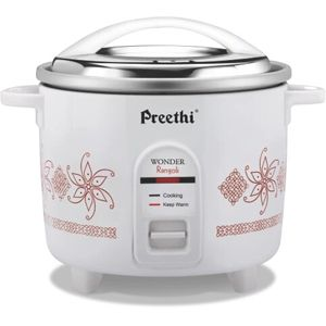 Preethi Rangoli - RC 321 DP 2.2 Ltrs Electric Cooker (White)