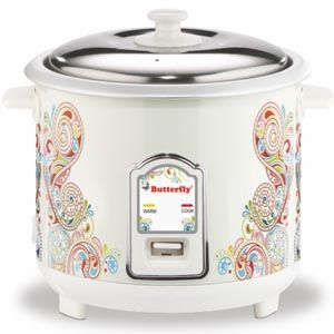 Butterfly Raga 1.8 Ltrs Electric Cooker (White)