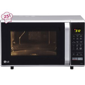 LG MC2846SL 28 Ltrs Convection Microwave Oven (Silver)