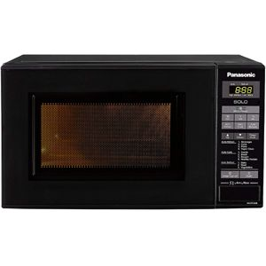 Panasonic NN-ST266BFDG 20 Ltrs Solo Microwave Oven (Black)