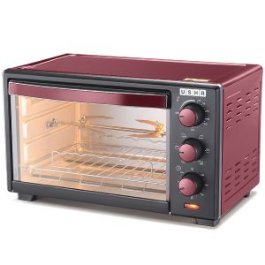 Usha OTGW 3619R 19 Ltrs Oven Toaster Grill (Red)