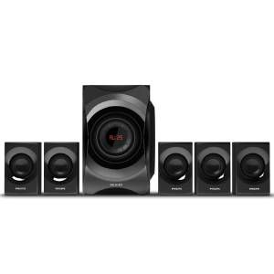 Philips SPA8000B 5.1ch Multimedia Speaker (Black)