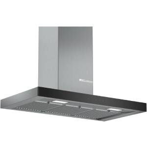 Bosch DWB098G50I 90 cm 705 m³/hr Wall Mounted Chimney (Stainless Steel)