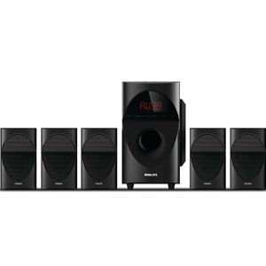 Philips SPA5190B/94 5.1 Ch Multimedia Speaker (Black)