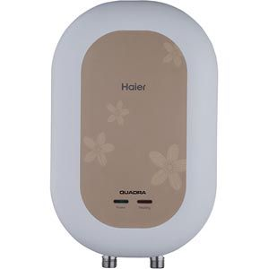 Haier ES 3V C1 3 Ltrs Instant Vertical Water Heater (Ivory)
