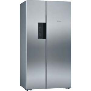 Bosch KAN92VI35I 658 Ltrs  Frost Free Side by Side Refrigerator (Stainless steel)
