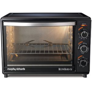 Morphy Richards Besta 52 Ltrs Oven Toaster Grill (Black)