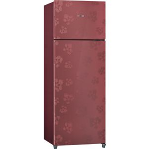 Bosch KDN30VV30I 288 Ltrs 3 Star Frost Free Double Door Refrigerator (Wine Red)