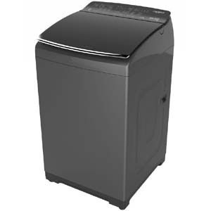 Whirlpool 360° BLOOMWASH PRO 7.5 kg Fully Automatic Top Load Washing Machine (Graphite)
