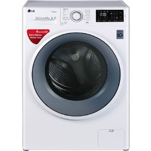 LG FHT1065SNW 6.5  Fully Automatic Front Load Washing Machine (White)