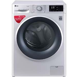 LG FHT1065SNL 6.5 Kg Fully Automatic Front load Washing Machine (Silver)