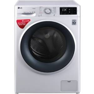 LG FHT1007SNL 7 Kg Fully Automatic Front load Washing Machine (Luxury Silver)
