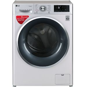 LG FHT1207SWL 7.0  Fully Automatic Front Load Washing Machine (Silver)