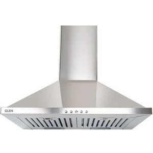 Glen GL 6075 SS 60 cm 1000 m³/hr Wall Mounted Chimney (Stainless Steel)