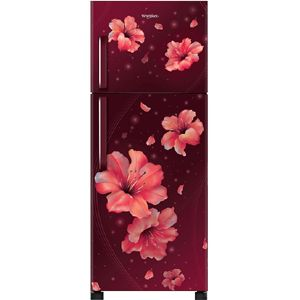 Whirlpool NEO 278H PRM 265 Ltrs 3 Star Frost Free Double Door Refrigerator (Wine Hibiscus)