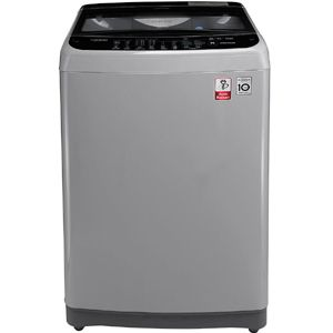 LG T7577NDDLJ 6.5  Fully Automatic Top Load Washing Machine (Middle Free Silver)