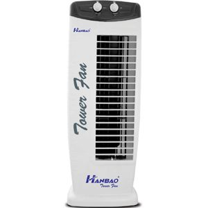 Hanbao 140W Tower Fan (White)