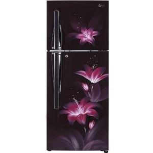LG GL-C292RPGY 260 Ltrs 3 Star Frost Free Double Door Refrigerator (Purple Glow)