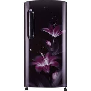 LG GL-B221APGY 215 Ltrs 4 Star Direct Cool Single Door Refrigerator (Purple Glow)