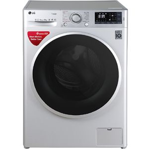 LG FHT1408SWL 8.0  Fully Automatic Front Load Washing Machine (Silver)