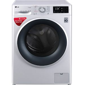 LG FHT1208SNL 8.0  Fully Automatic Front Load Washing Machine (Silver)