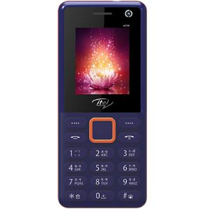 ITEL 2190 Feature Phone (Blue)