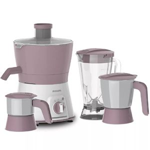 Philips HL7581/00 600 W Juicer (Lilac)