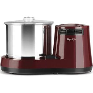 Pigeon Dyna 2 Ltrs Table Top Wet Grinder (Maroon)