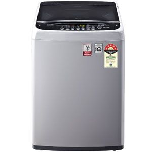 LG T65SNSF1Z 6.5 Kg Fully Automatic Top Load Washing Machine (Middle Free Silver)