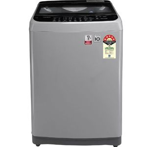 LG T65SJSF3Z 6.5 Kg Fully Automatic Top Load Washing Machine (Middle Free Silver)