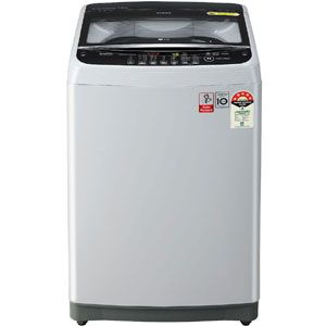 LG T70SJSF3Z 7 Kg Fully Automatic Top Load Washing Machine (Middle Free Silver)