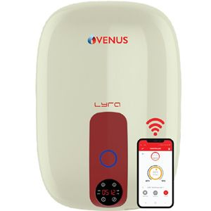 Venus Lyra-Nexus 15RW 15 Ltrs Storage Vertical Water Heater (Ivory Red)