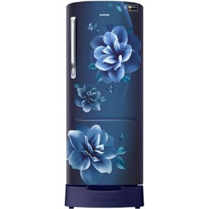 Samsung RR22T383XCU 212 Ltrs 4 Star Direct Cool Single Door Refrigerator (Camellia Blue)