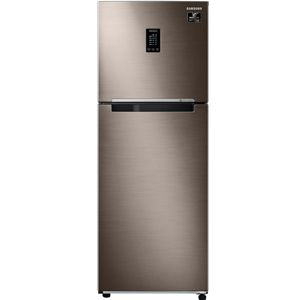 Samsung RT37T4632DX 336 Ltrs 2 Star Frost Free Double Door Refrigerator (Luxe Brown)