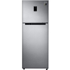 Samsung RT42M553ESL 415 Ltrs 3 Star Frost Free Double Door Refrigerator (Easy Clean Steel)