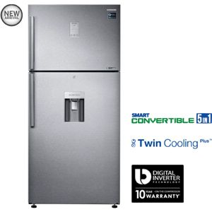 Samsung RT54K6558SL 523 Ltrs 2 Star Frost Free Double Door Refrigerator (Easy Clean Steel)