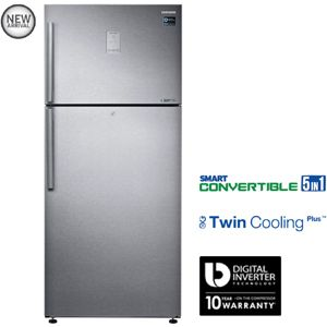 Samsung RT56K6378SL 551 Ltrs 2 Star Frost Free Double Door Refrigerator (Easy Clean Steel)