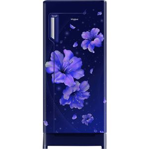 Whirlpool 230 IMFR ROY 215 Ltrs 3 Star Direct Cool Single Door Refrigerator (Sapphire Hibiscus)