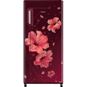 Whirlpool 230 IMFR PRM INV 215 Ltrs 3 Star Direct Cool Single Door Refrigerator (Wine Hibiscus)