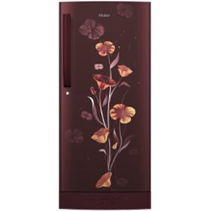 Haier HRD-1953CPRF-E 195 Ltrs 3 Star Direct Cool Single Door Refrigerator (Red Freesia)