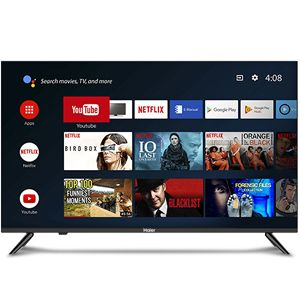 Haier LE43K6600GA 43Inch (109cm) Full HD LED TV (Black)