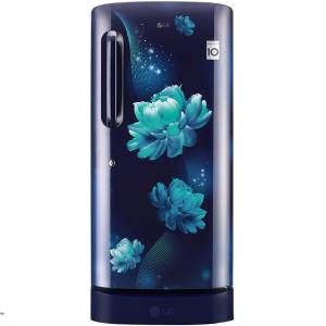LG GL-D221ABCY 215 Ltrs 4 Star Direct Cool Single Door Refrigerator (Blue Charm)