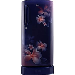 LG GL-D201ABPY 190 Ltrs 4 Star Direct Cool Single Door Refrigerator (Blue Plumeria)